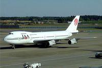 JA8154 @ RJAA - Boeing 747-246B [22745] (Japan Asia Airways) Tokyo-Narita~JA 09/11/2005