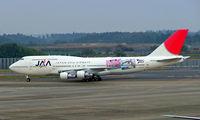 JA8185 @ RJAA - Boeing 747-346 [23969] (Japan Asia Airways) Tokyo-Narita~JA 07/11/2005