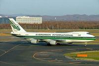 N488EV @ RJCC - Boeing 747-230BF [23287] (Evergreen International Airlines) Sapporo~JA 06/11/2005