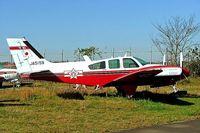 JA5159 @ RJAA - Beech 56TC Turbo Baron [TG-77] Tokyo-Narita~JA 09/11/2005