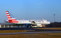 N725UW @ KCLT - Takeoff CLT - by Ronald Barker