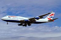 G-BYGG @ EGLL - Boeing 747-436 [28859] (British Airways) Heathrow~G 01/09/2006. On finals 27L.