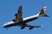 G-BYGG @ EGLL - Boeing 747-436 [28859] (British Airways) Home~G 21/05/2015. On approach 27R.