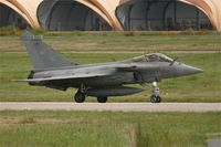 20 @ LFRJ - Dassault Rafale M, Taxiing after landing rwy 26, Landivisiau Naval Air Base (LFRJ) - by Yves-Q