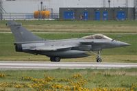 10 @ LFRJ - Dassault Rafale M, Taxiing after landing rwy 26, Landivisiau Naval Air Base (LFRJ) - by Yves-Q