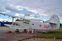 562 @ EHLE - Antonov An-2R [1G172-48] Lelystad~PH 11/09/2003