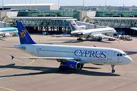 5B-DAW @ EHAM - Airbus A320-231 [0038] (Cyprus Airways) Schiphol~PH 13/09/2003