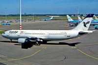 EP-IBA @ EHAM - Airbus A300B4-605R [723] (Iran Air) Schiphol~PH 13/09/2003 - by Ray Barber