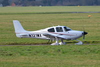 N121MX @ EGSH - About to depart from Norwich. - by Graham Reeve
