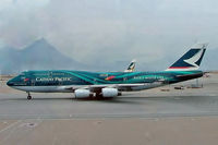 B-HOY @ VHHH - Boeing 747-467 [25351] (Cathay Pacific Airways) Hong Kong International~B 31/10/2005 - by Ray Barber