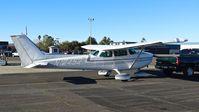 N12452 @ O69 - Locally-based 1973 Cessna 172M getting towed back to its hangar after some cheap fuel at Petaluma Municipal Airport, Petaluma, CA. - by Chris Leipelt