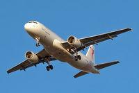 TS-IMU @ EGLL - Airbus A320-214 [5474] (Tunisair) Home~G 07/03/2015. On approach 27R.