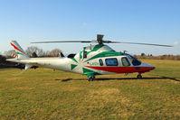 G-POTR @ EGBC - Agusta A-109E Power [11043] (Castle Air) Cheltenham Racecourse~G 10/03/2015