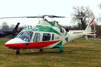 G-POTR @ EGBC - Agusta A-109E Power [11043] (Castle Air) Cheltenham Racecourse~G 11/03/2015