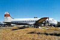 N67019 @ KFFZ - Douglas C-54B Skymaster [10520] (Brooks Fuel) Mesa-Falcon Field~N 17/10/1998