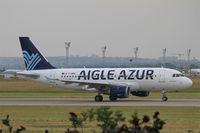 F-HBMI @ LFPO - Airbus A319-114, Take off run rwy 08, Paris-Orly Airport (LFPO-ORY) - by Yves-Q
