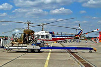 D-HICE @ EDDB - Westland-Bell 47G-3B1 [WA.327] Berlin-Schonefeld~D 14/05/2004 - by Ray Barber