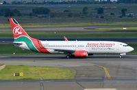 5Y-KYD @ FAJS - Kenya B738 departing for Nairobi. - by FerryPNL