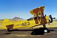 N52558 @ KFFZ - Boeing Stearman PT-17 Kaydet [75-4894] Mesa-Falcon Field~N 17/10/1998 - by Ray Barber