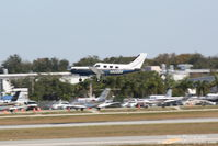 N822DK @ KSRQ - Piper Malibu Mirage (N822DK) departs Sarasota-Bradenton International Airport - by Donten Photography