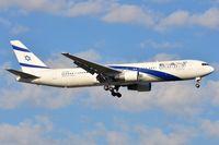 4X-EAJ @ FAJS - ELAL B763 landing in JNB. - by FerryPNL