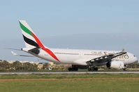 A6-EAS @ LMML - A330 A6-EAS Emirates Airlines - by Raymond Zammit