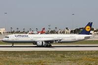 D-AISP @ LMML - A321 D-AISP Lufthansa - by Raymond Zammit