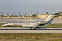 D-AJJK @ LMML - Gulfstream G550 D-AJJK Windrose Air - by Raymond Zammit