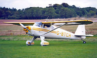 G-BTCH @ EGHP - Luscombe 8E Silvaire [6403] Popham~G 16/09/2001 - by Ray Barber