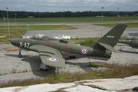 52-8723 @ ENTO - Aircraft X-AZ displayed at Torp Norway - by Gerrit van de Veen