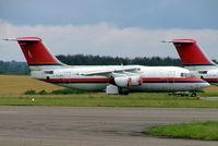 I-FLRE @ EGBP - I-FLRE   BAe 146-200 [E2210] (Ex Meridiana) Kemble~G 11/07/2004. Stored pending sale.