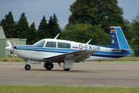 D-EKUR @ EGBP - Mooney M.20K Model 231 [25-0437] Kemble~G 11/07/2004