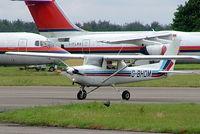 G-BHDM @ EGBP - R/Cessna F.152 [1684] Kemble~G 11/07/2004 - by Ray Barber