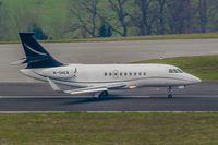 M-SNER @ EDDR - Dassault Falcon 2000EX - by Jerzy Maciaszek