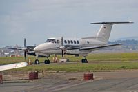 D-ISKY @ EGFF - Beech B200 King Air, Air Hamburg, Hamburg based, previously N6394Y, seen parked up. - by Derek Flewin