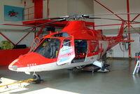 HB-XWP @ LSZL - Agusta A.109K2 [10027] (REGA-Swiss Air Ambulance) Locarno~HB 21/07/2004