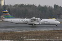 SE-MKC @ ESSB - Lining up runway 12.
