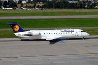 D-ACHK @ LSZH - Canadair CRJ-200LR [7499] (Lufthansa Regional) Zurich~HB 22/07/2004 - by Ray Barber