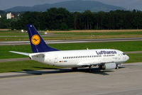 D-ABIH @ LSZH - Boeing 737-530 [24821] (Lufthansa) Zurich~HB 22/07/2004 - by Ray Barber