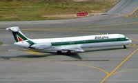 I-DAWL @ LIML - McDonnell Douglas DC-9-82 [49204] (Alitalia) Milan-Linate~I 20/07/2004