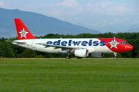 HB-IHX @ LSGG - Airbus A320-214 [0942] (Edelweiss Air) Geneva~HB 23/07/2004