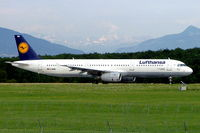 D-AIRM @ LSGG - Airbus A321-131 [0518] (Lufthansa) Geneva-International~HB 23/07/2004 - by Ray Barber