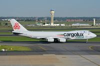 LX-YCV @ FAJS - Cargolux Italia B744F taxying for departure. - by FerryPNL