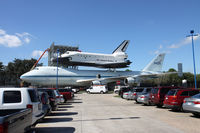N905NA - unusual view from a parking lot ! - by olivier Cortot