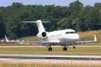 D-AAOK @ LFSB - Canadair Challenger 604, On final rwy 15, Bâle-Mulhouse-Fribourg airport (LFSB-BSL) - by Yves-Q