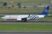 5Y-CYE @ FAJS - Kenya Airways B738 in Skyteam c/s taking-off from JNB. - by FerryPNL
