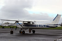 G-BXJM @ EGPT - Parked up at Perth EGPT - by Clive Pattle