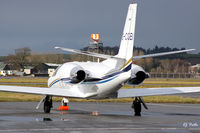 G-CGEI @ EGPF - Parked up at Glasgow EGPF - by Clive Pattle