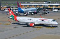 5Y-FFA @ FAJS - Kenya Airways ERJ190 arriving in JNB. - by FerryPNL