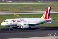 D-AGWY @ EDDL - Taxiing to the runway for take off - by Günter Reichwein